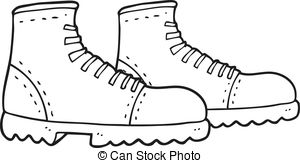 Drawn boots animated 4 freehand Stock  boots