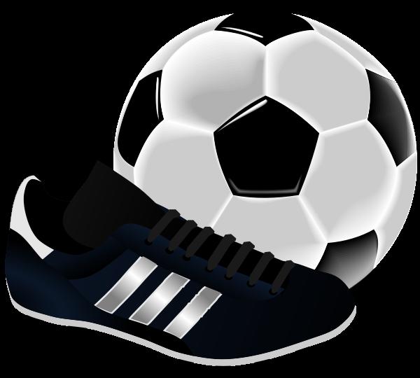 Football clipart football boot #3