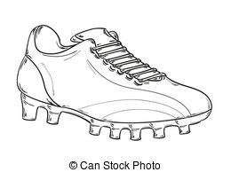 Football clipart football boot #14