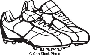 Football clipart football boot Football Shoes Football of shoes