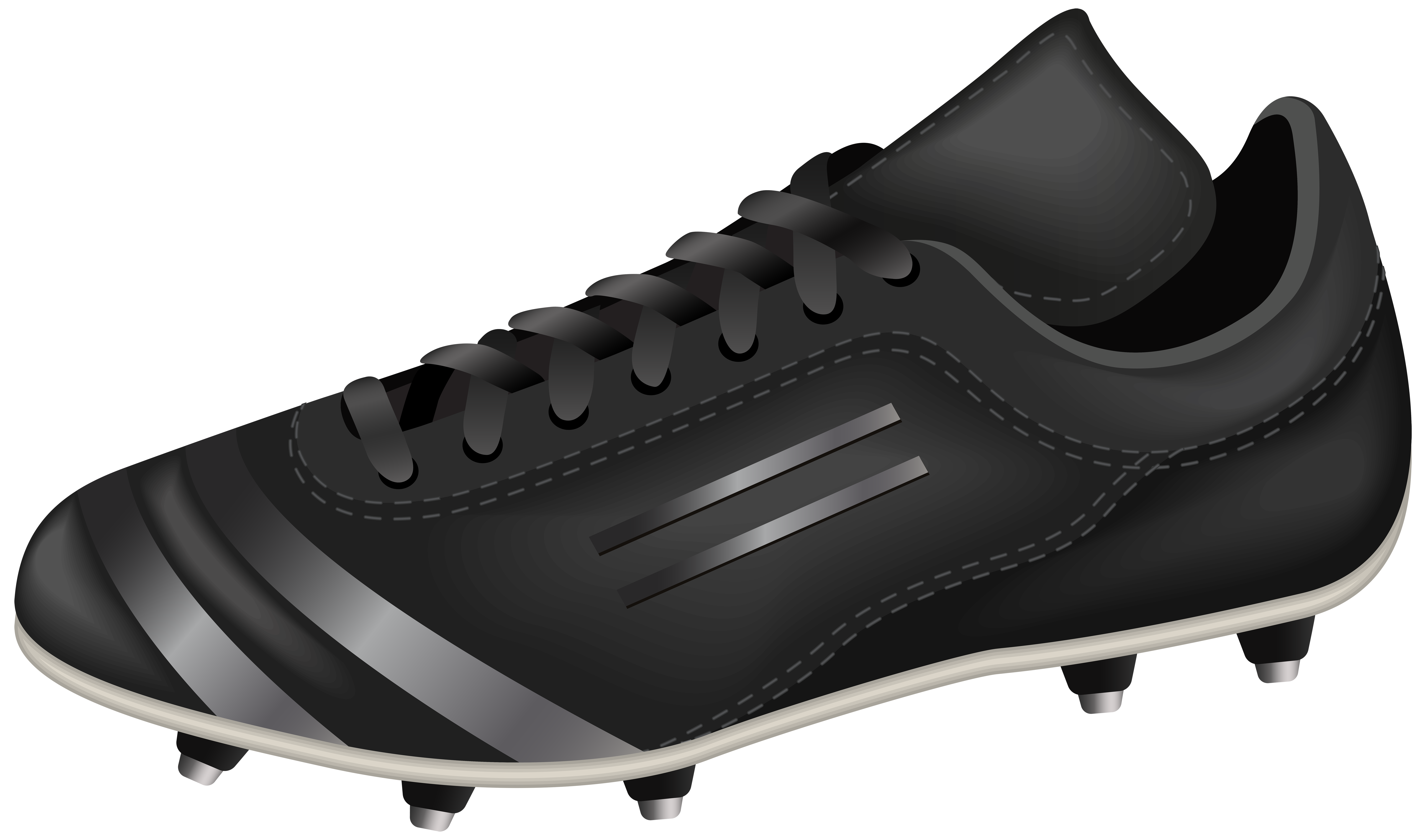 Football clipart football boot #8