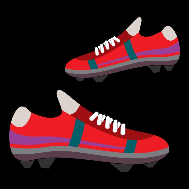 Football clipart football boot #2