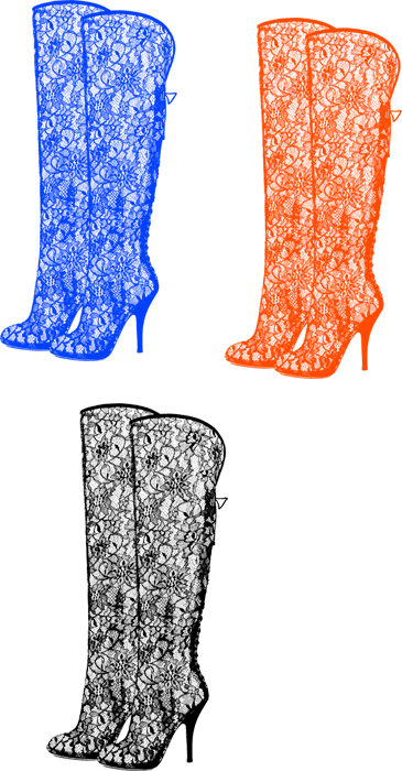 Boots clipart pirate Shoes red goth graphics