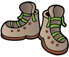 Hiking clipart walking boot Track Collection clipart Of Hiking