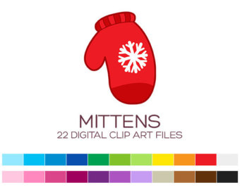 Sanya clipart mittens Winter Clipart clipart Christmas Clipart