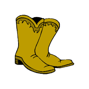 Boots clipart sheriff & of horse Western sheriff