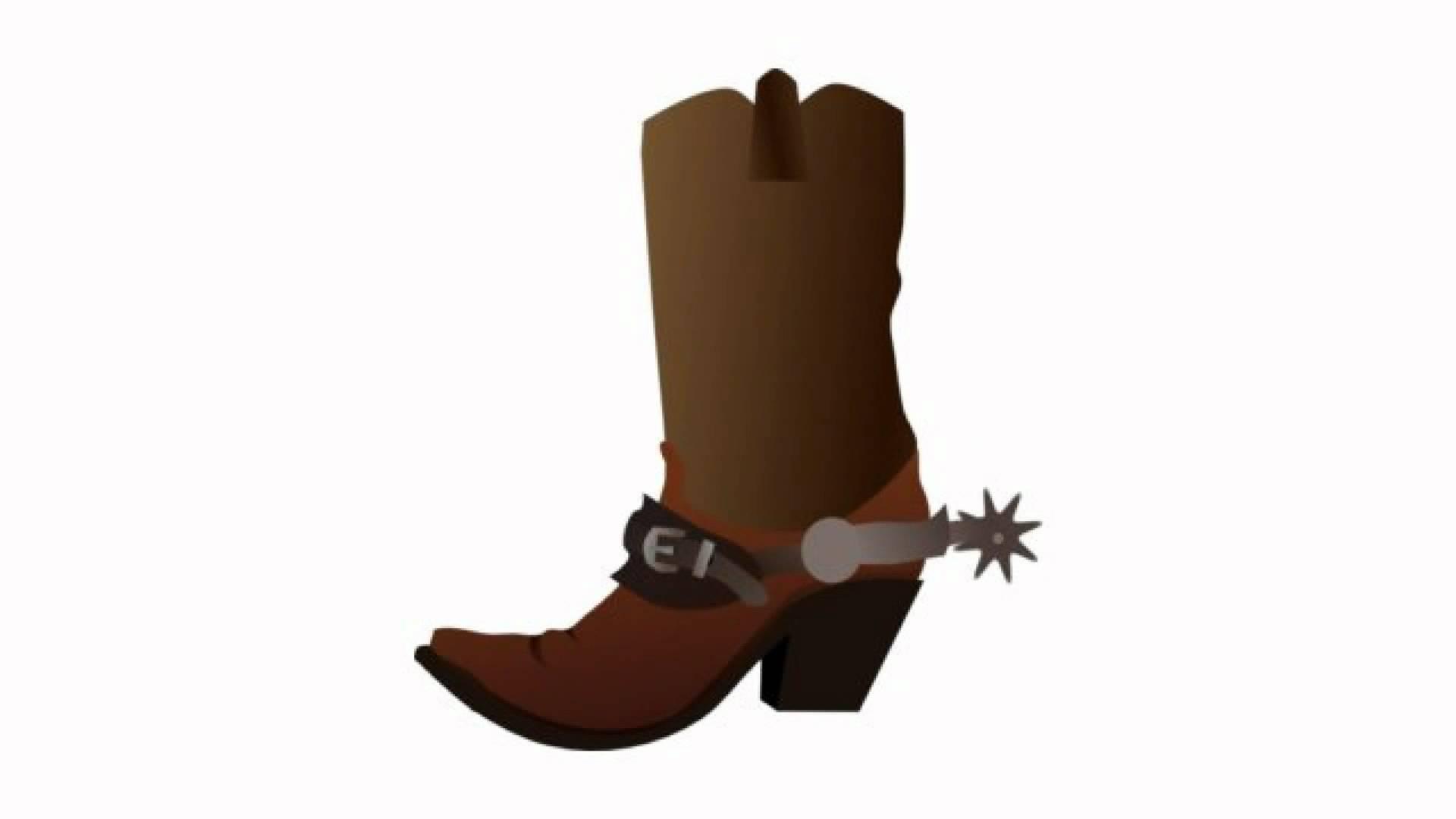 Cowboy clipart spurs Clipart spurs cowboy Clipartix boot