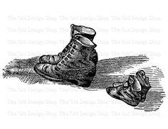 Boots clipart victorian Image  Lace Clip Digital