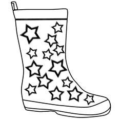 Shoe clipart rainy #12