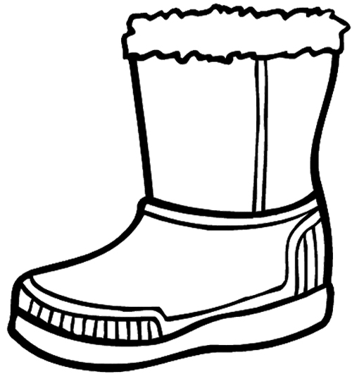 Boots clipart winter boot Boots Large Page for Winter
