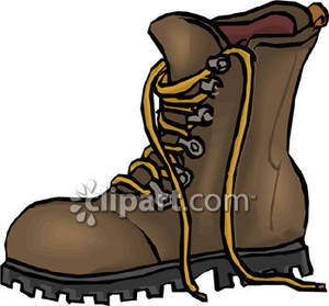 Hiking clipart walking boot Hiking  boots Hiking Clipart