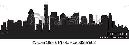 Boston clipart Detailed Boston Detailed of Illustration