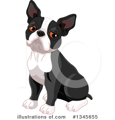 Boston Terrier clipart Clipart by Boston #1345655 Royalty