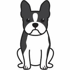 """Boston Terrier clipart Logo Pinterest """"boston terrier art""""的图片搜索结果"""