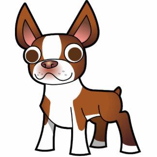Boston Terrier clipart anime boston (red) Boston Statuette Sculptures Cartoon