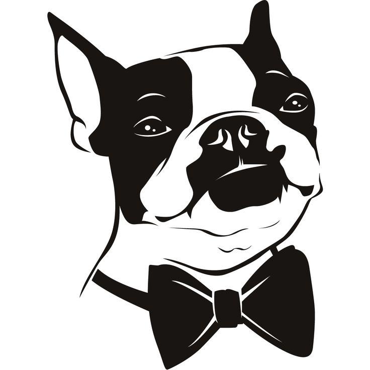 Boston Terrier clipart anime boston I 394 love Pinterest