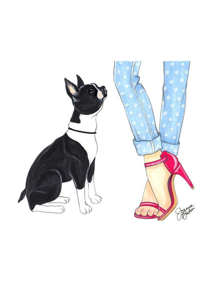 Boston Terrier clipart anime boston 1455 Boston best Pinterest Pink