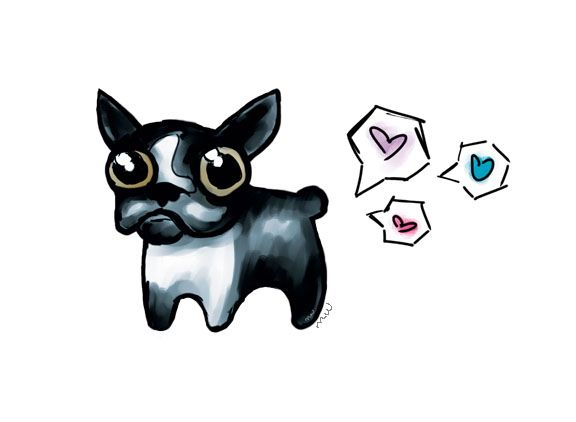 Boston Terrier clipart anime boston And this more best Find