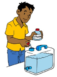 Bottle clipart chlorine SSWM Introduction Chlorination