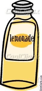 Bottle clipart lemonade bottle Bottle art lemonade Vector of