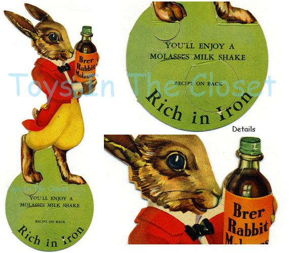 Bottle clipart molasses Molasses Brer by Vintage Rabbit