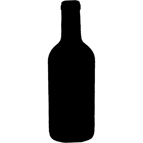 Bottle clipart silhouette Silhouette Wall Chalk Board Bottle