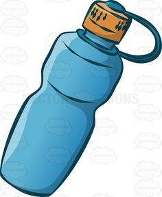 Bottle clipart sports bottle Bottle bottle #vector #cartoon