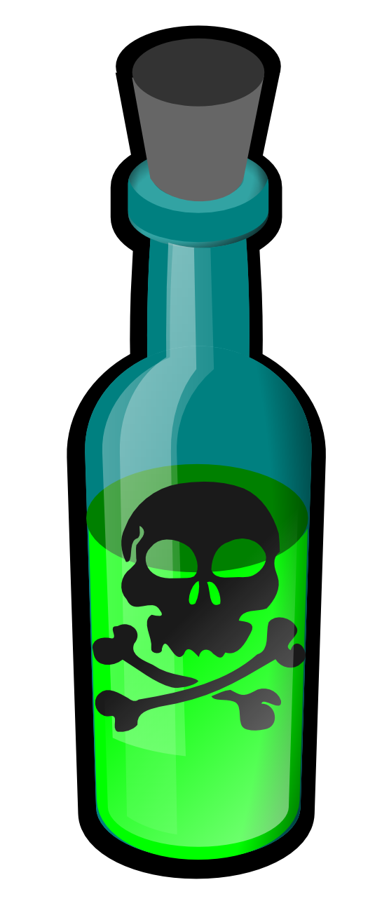 Bottle clipart toxic And Inspiration Cliparts Cliparts Others