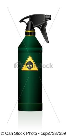 Bottle clipart toxic Toxic Vector Bottle csp27387359 Clipart