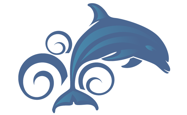 Bottlenose Dolphin clipart cartoon On Clip  library Dolphin