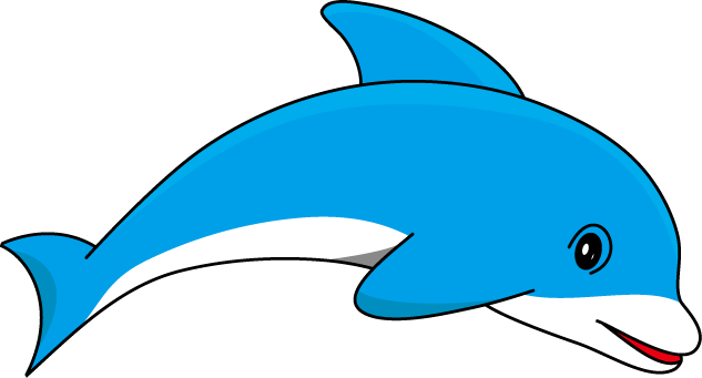 Bottlenose Dolphin clipart cute baby dolphin #7