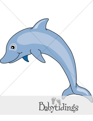 Seahorse clipart cute baby dolphin #3