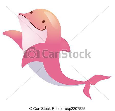 Bottlenose Dolphin clipart drawn #6