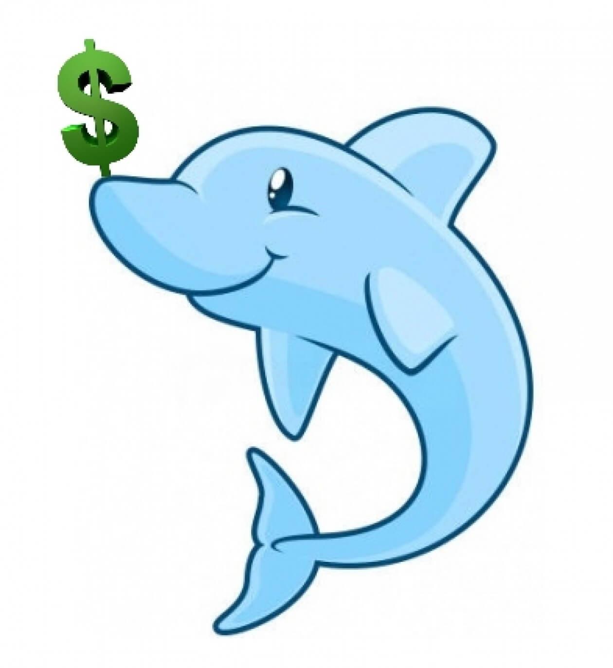 Bottlenose Dolphin clipart flipper A Dollar Flipping Jude Post