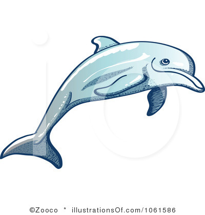 Bottlenose Dolphin clipart illustration Dolphin Free Images Clip Dolphin