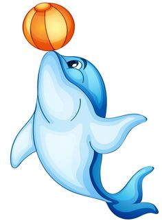 Bottlenose Dolphin clipart ocean animal Png CLIPART Royalty free Water