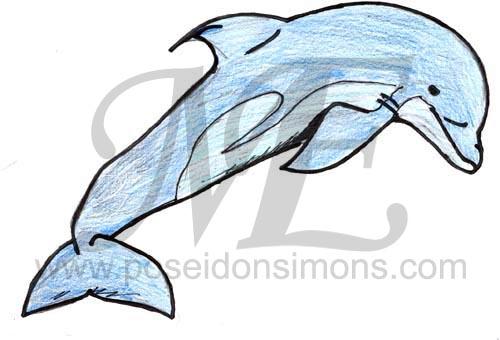 Bottlenose Dolphin clipart poseidon Tucuxi8 VCL jpg Poseidon vcl