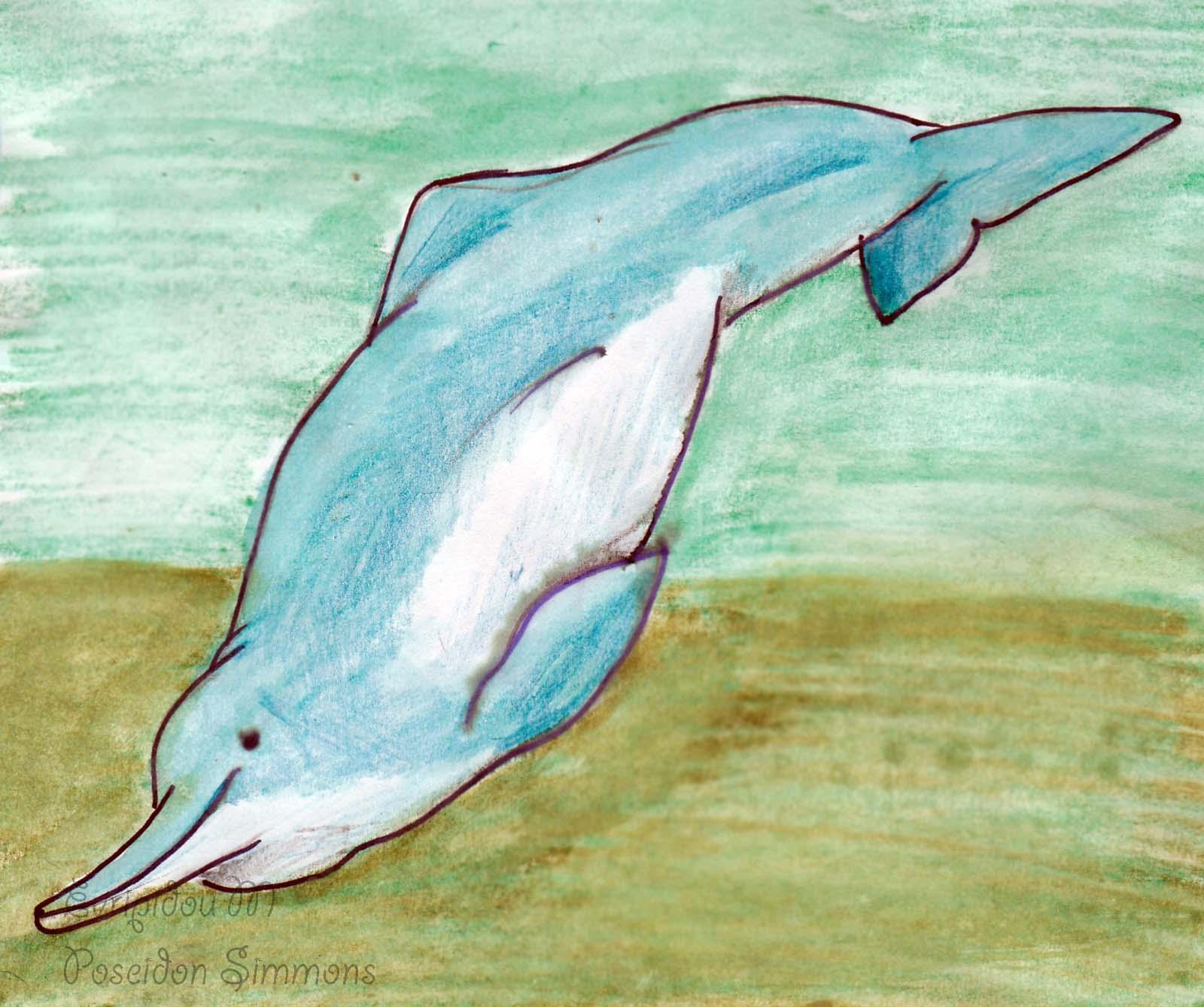 Bottlenose Dolphin clipart poseidon Baiji442016_ jpg Simons _Copy VCL