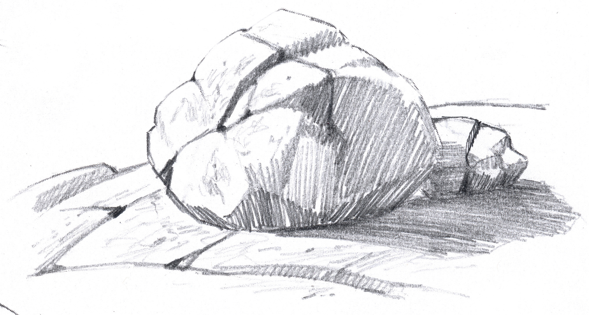 Drawn rock pencil drawing Arts and Boulder Granite Granite