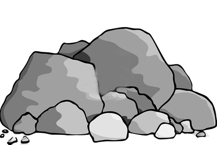 Boulders clipart (27+) rocks ինչո՞վ անխելքից խելացի