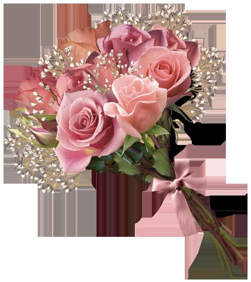 Bouquet clipart Rose Pink Clipart collection Bouquet
