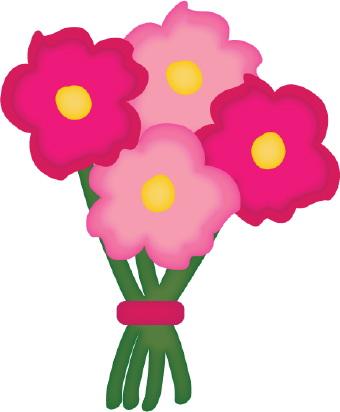 Bouquet clipart Bouquet  Clipart Of Flowers