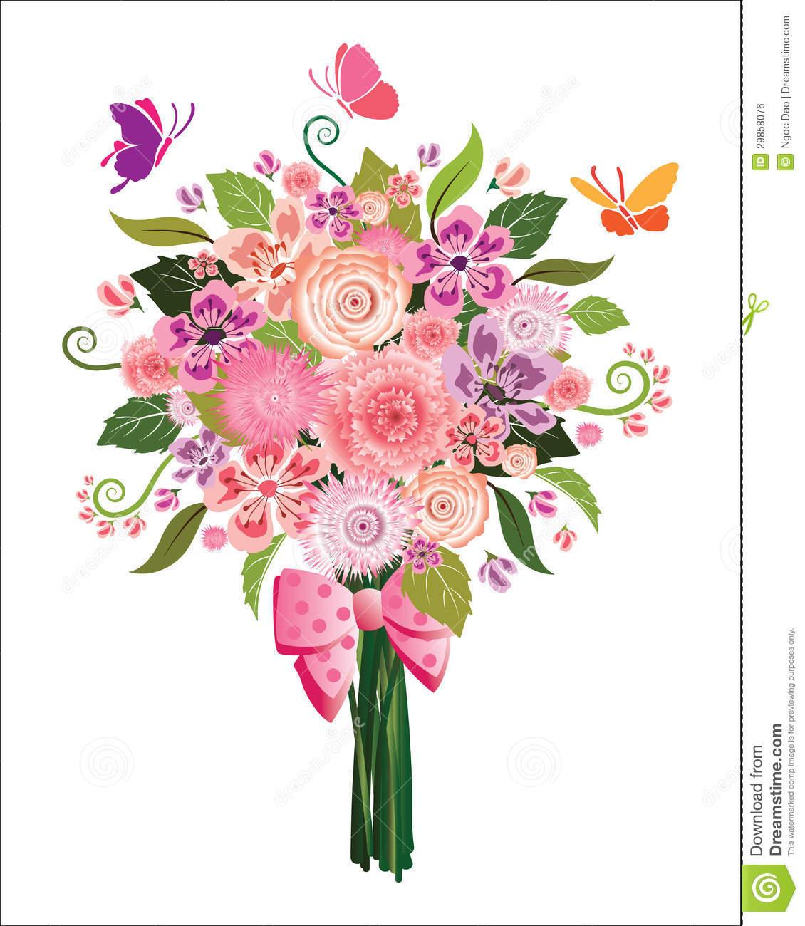 Bouquet clipart Bouquet Floral bouquets Clipart clipart