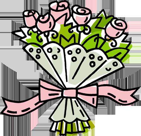 Bouquet clipart dozen rose Dozen Art Clip  For
