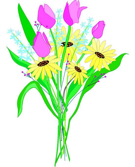 Chamomile clipart flower bunch Bouquets Flower Bouquets  Mixed