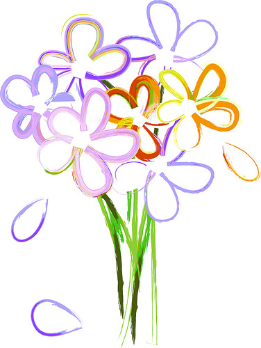 Wildflower clipart flower bouquet Flower 2 clipart lilies
