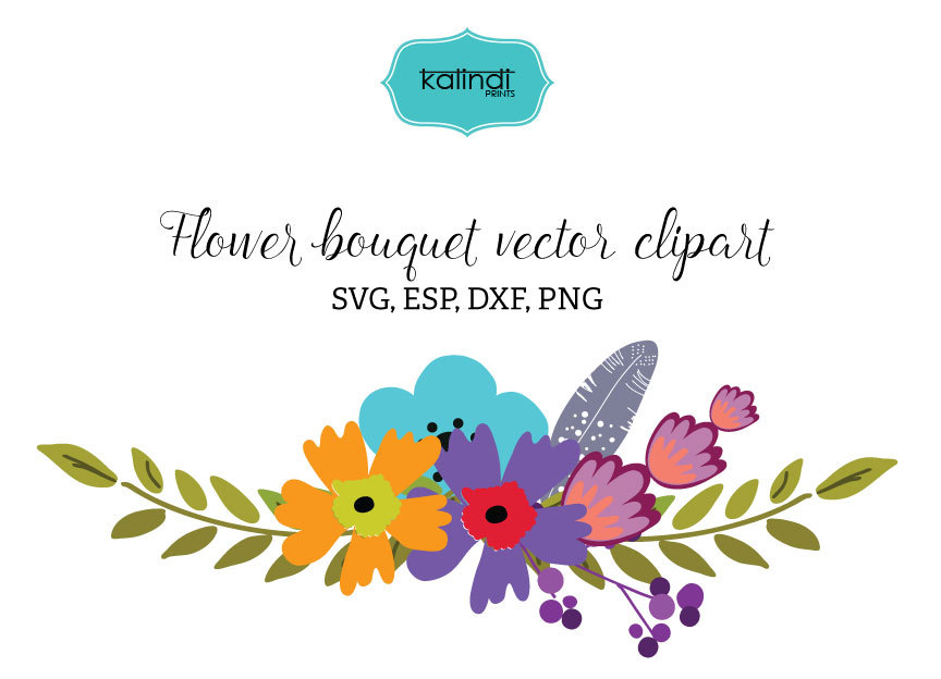 Bouquet clipart flower vector Bouquet bouquet Flower bouquet art
