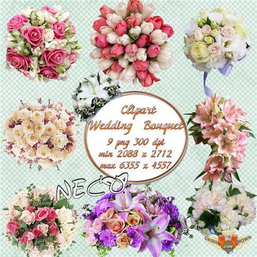 Bouquet clipart marriage flower Flower flower tulips art clip