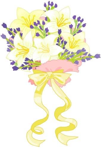 Bouquet clipart marriage flower Flower com Clipart Bouquet Clipart