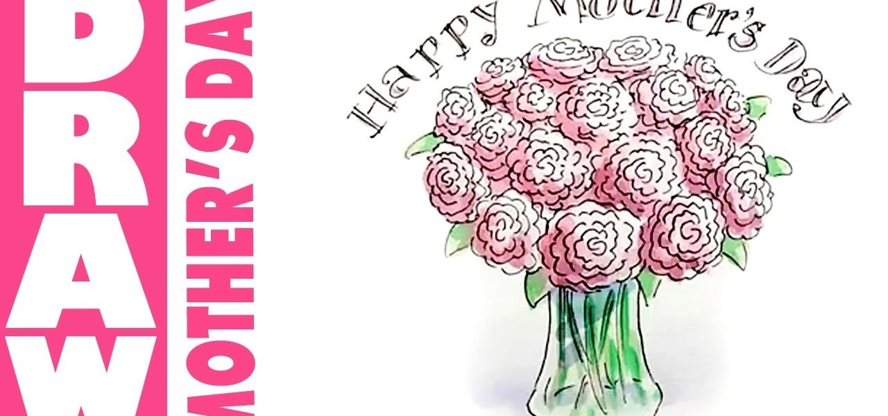 Bouquet clipart mom Your Day How Mom Draw